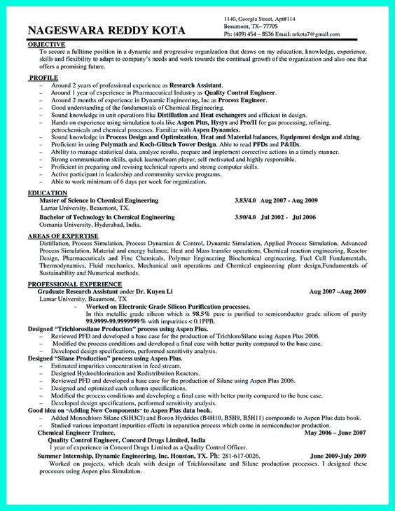 This Software Can Write A Grade-A College Paper In Less Than sample - process engineer sample resume