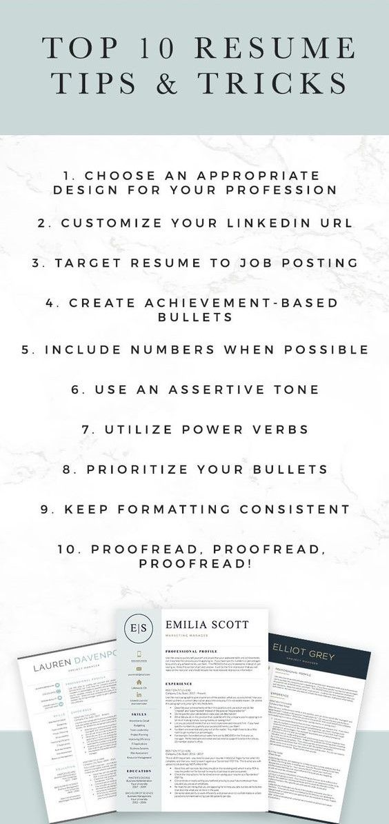 Top 10 Resume Tips And Tricks Resume Writing Services Resume Writing Examples Resume Tips
