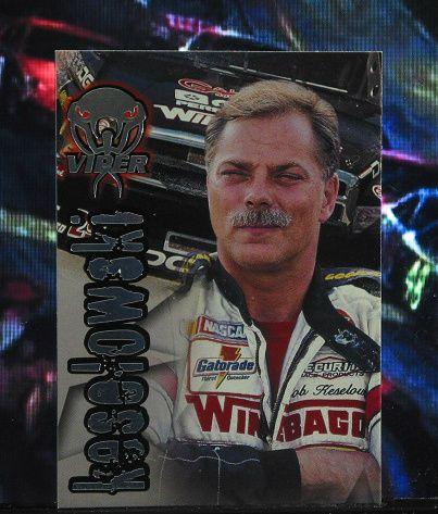 http://nascarniche.blogspot.com/  Bob Keselowski Truck Series 1996 Wheels Viper Trading Card #72 Base Set Nascar