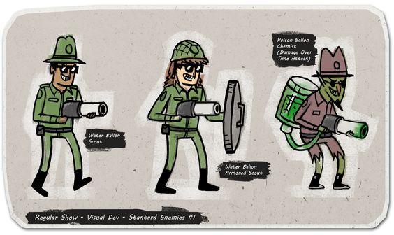 Cartoon Network Character Designer Salary : Regular show game and cartoon on pinterest