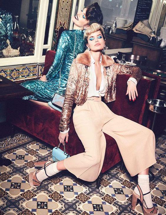 #мода #стиль #fashion #Elisabetta_Franchi #fw2017 #fw2018 #50е #ретромода #ретростиль #пинап #коллекцииодежды #mypositivestyles #myps