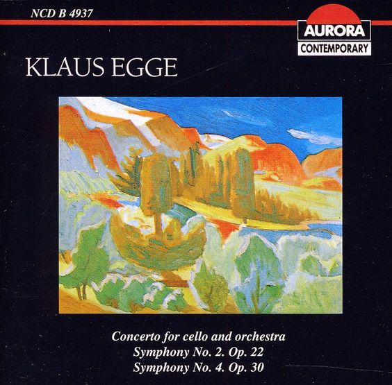 Klaus Egge - Concerto For Cello & Orchestra
