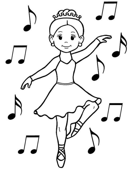 dance coloring pages for adults. Dancing is one of the ways we express ourselves. Dancing is the art of movement. There are many types of dances, ranging from traditional dances, clas... #coloring #coloringpages #printables #coloriage