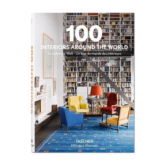 Taschen - 100 Interiors Around the World Book