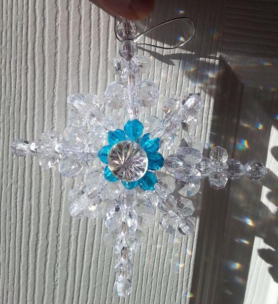 Homemade Christmas Star Ornament: Make A Beautiful And Easy Beaded Star Of Bethlehem