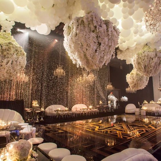 Great Wedding Reception Ideas: Amazing Great Gatsby Themed Decor. Kris Jenner's Bday Bash