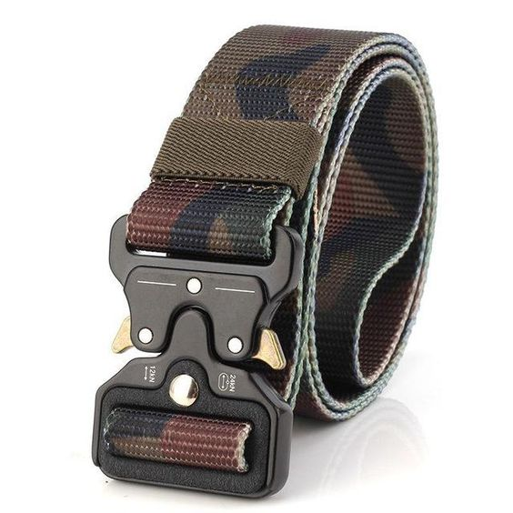 Best YBT Unisex Nylon belt Metal insert buckle military nylon Training belt Army tactical belts for Men Best quality male strap