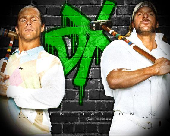 DX - wrestling Wallpaper