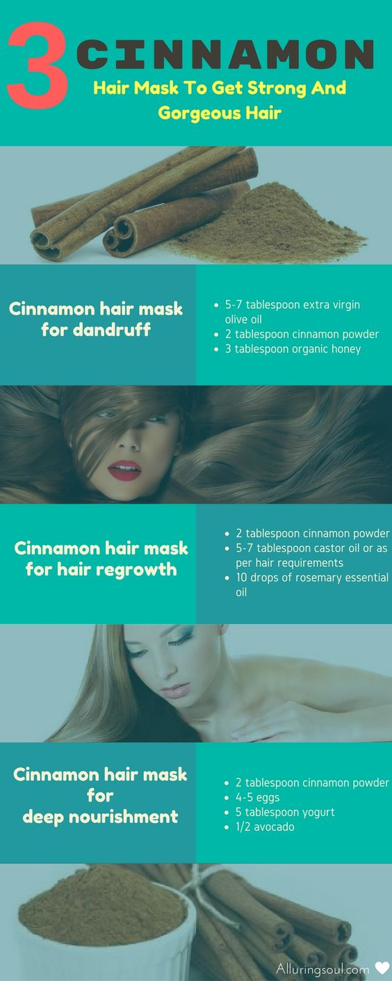 cinnamon hair mask: