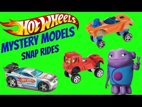 Hot wheels Mystery Packs and Snap Rides - YouTube