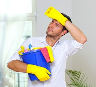 """It is also common that men clean the house and take on """"housewifely duties"""" (as they were referred to in the 21st century). This practice over time has helped women become men's equivalence."""
