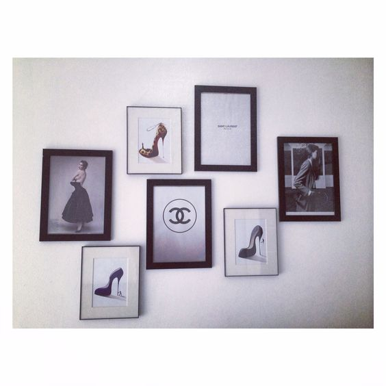 The wall ! #chanel #saintlaurent #shoes #louboutin