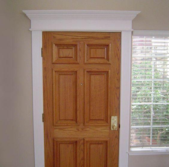 Home interior door trim options colonial door trim for Colonial trim molding