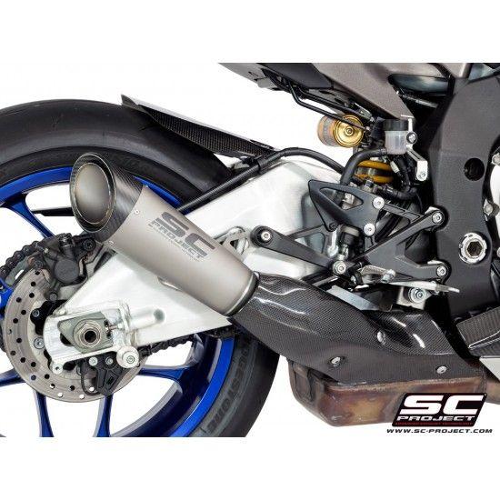 Sc Project S1 Silencer For Original Catalyst Titanium Yamaha Yzf