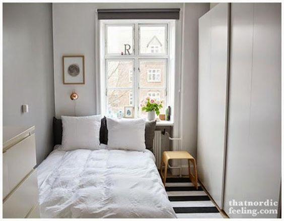Consejos para distribuir un dormitorio muy peque o tes - Soluciones para dormitorios pequenos ...