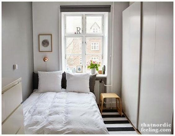 Consejos para distribuir un dormitorio muy peque o tes for Decoracion para apartamentos pequenos