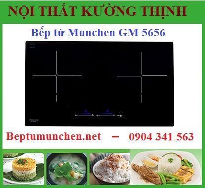Vì sao nên chọn mua bếp từ Munchen GM 5656