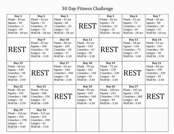 30 Day Fitness Challenge might make this 60 days and do each day ...