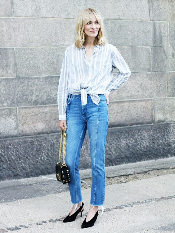 The Top 13 Closet Basics Every Fashion Blogger Owns via @WhoWhatWear: