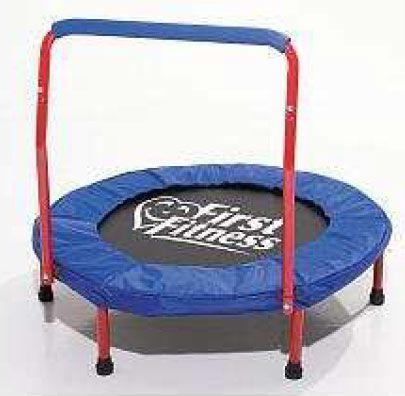 AQUA-LEISURE    SAFETY RECALL    FIRST FITNESS® KID'S FIRST TRAMPOLINE WITH HANDLEBAR  (Sold from September 2010 through April 2012)
