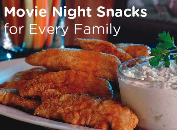 Movie Night Snacks For Every Family! #Weekend #Popcorn #Kids