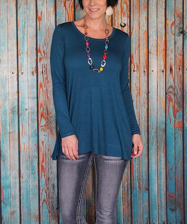 Loving this Teal Ballet Tunic on #zulily! #zulilyfinds