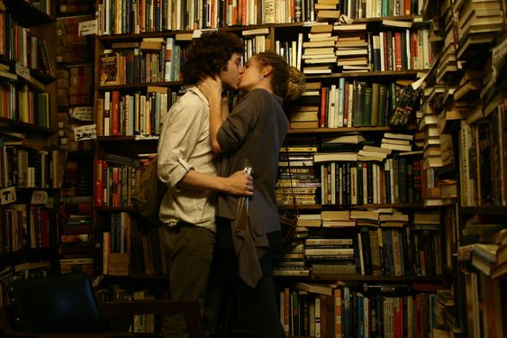 ...Book Lover's Romance by Nadja Pausch...Capitol Books in Washington DC. November 2009...yes, books can have that effect...