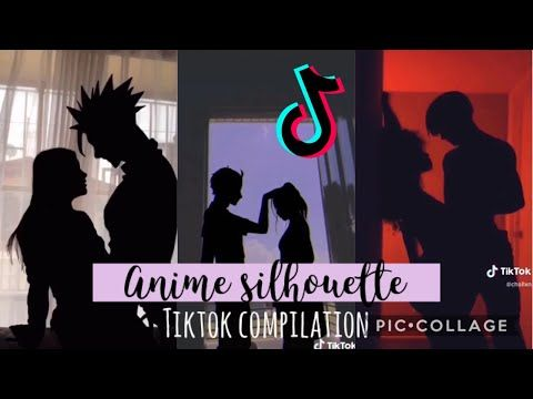 Anime Silhouette Challenge Tiktok Compilation That Is Better Than My Future Youtube Anime Challenges Silhouette