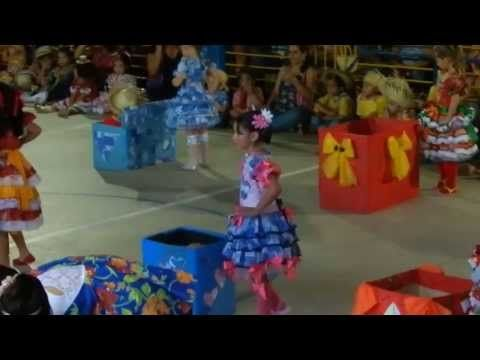 Meu Mamulengo Giovanna 2013 Youtube Dancas De Festa Junina