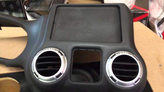 Jeep Punisher Edition Ep.30 Jeep Wrangler iPad Mini Slider Custom Dash Kit