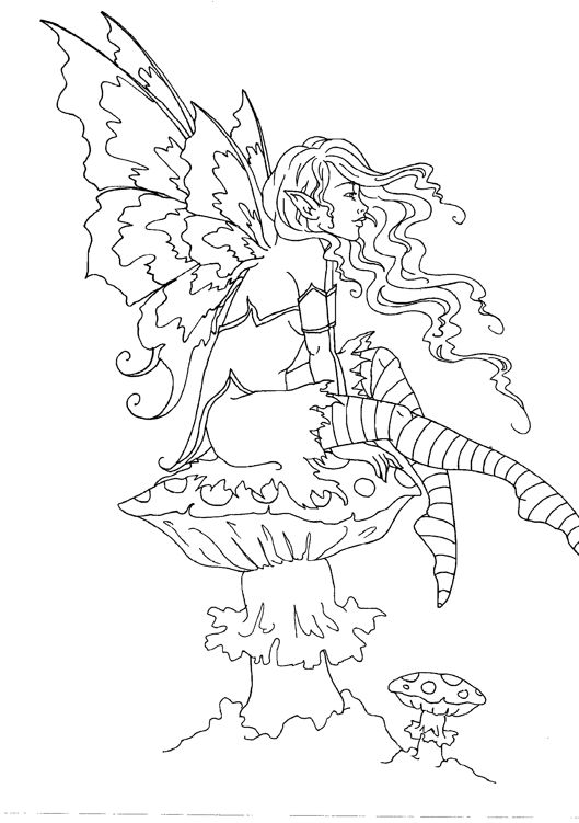 amy brown coloring pages free - photo#28