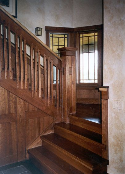 Craftsman Style Interior Woodwork All Of The Interior