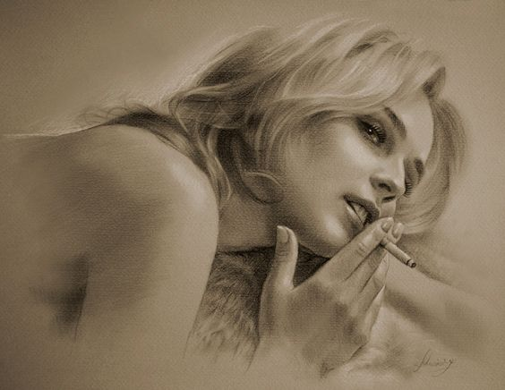 Diane Kruger Drawing by krzysztof20d