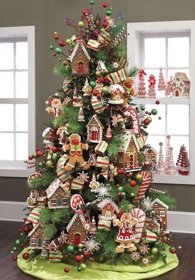 Candy Theme Christmas Tree – Christmas Tree Themes & Color Schemes