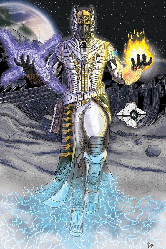 Destiny: Warlock print by DarlingInc on Etsy(I want this really bad!)