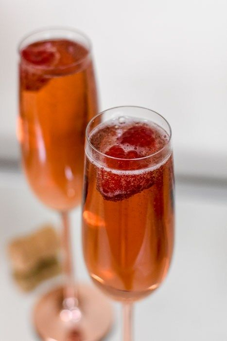 Whiskey Champagne Cocktails Recipe Champagne Cocktail Cocktails Winter Cocktails