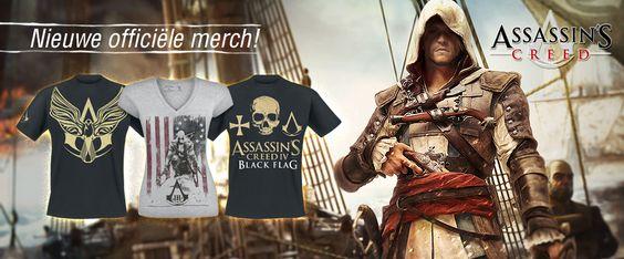 We hebben weer nieuwe merch van Assassin's Creed. Te bestellen bij Large.nl of Large.be
