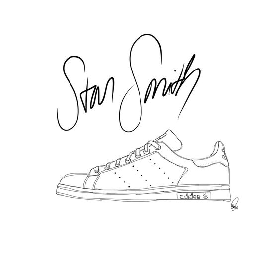 Superstar Adidas Dessin
