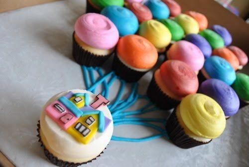 Pixar's UP! cupcakes