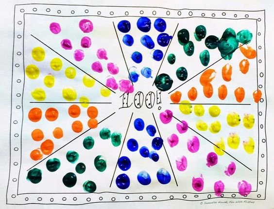Math worksheet 100th day of school 100th day and art worksheets on
