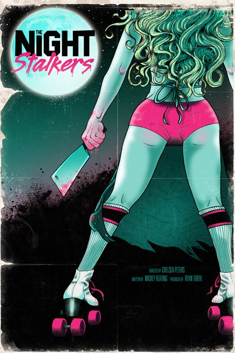The Night Stalkers movie poster by Lutz A.D.