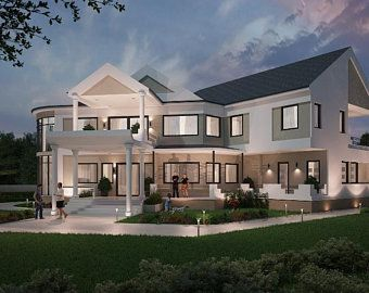 2 Bedroom House Plan With Twin Car And Rv Garages 3800sqft House Plan For Sale 59x65 House Plan Instant Download Home Designs Buy Now In 2021 Luxury Floor Plans Luxury House