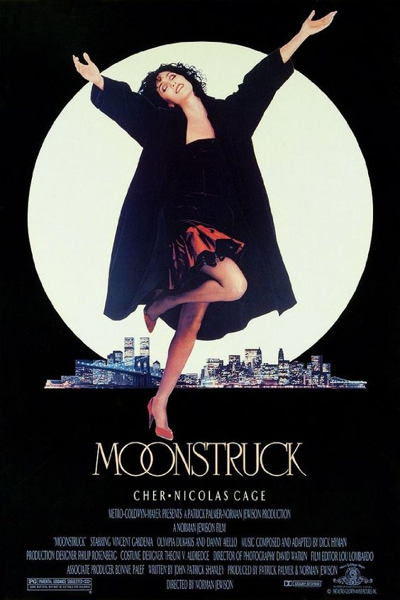 I happened to run across Moonstruck on TV the other night.  I forgot how much I love this movie.