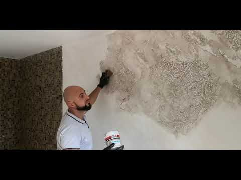Tencuiala decorativa de interior si … practical tips and ideas for your decorative plaster … pin on home deco. How To Make Beautiful Wall Decoration Youtube In 2021 Painting Textured Walls Faux Painting Walls Wall Painting Techniques