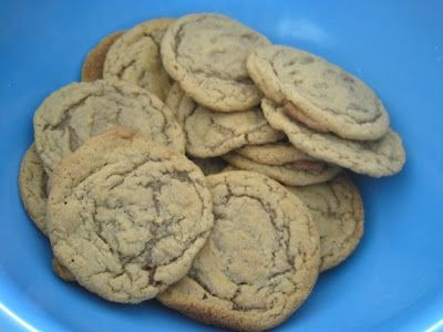 dairy-free brown sugar cookies...like snickerdoodles.: