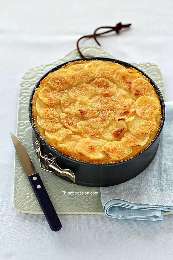 Gateau di patate - Gattò di patate   Chiarapassion