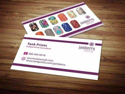 Business Card Template Vistaprint New Jamberry Business Card Design 1 Business Cards Vector Templates Create Business Cards Business Card Template