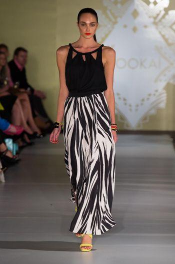 Zebra Maxi Skirt   Madelina Top   Multi Florida Bracelet   Spike Bracelet   Shiloh Bracelet  Paradise Cuff   Sky High Heels