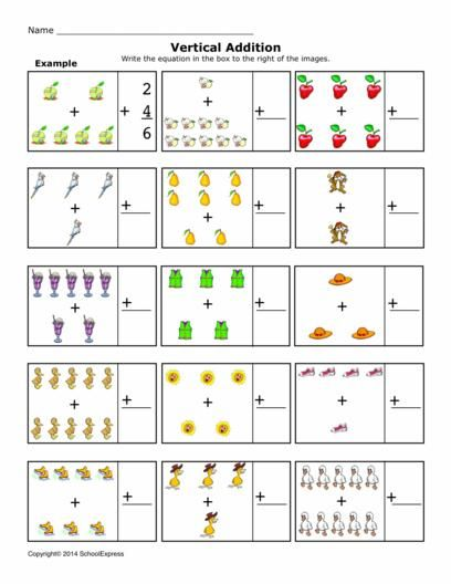 ... worksheets on PinterestMath Worksheets, Addition Worksheets, Sums 1-10