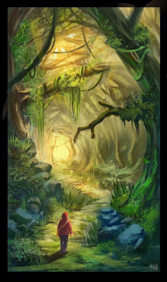 """""""The Enchanted Wood"""" Written by Enid Blyton - Artist Jessica Lois Smith - A Fairy Tale From England (1939)"""